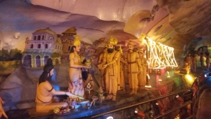 Batu Caves inside Ramayana Cave 2