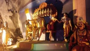 Batu Caves inside Ramayana Cave 9