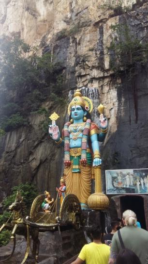 Batu Caves Lord Hanuman statue 2