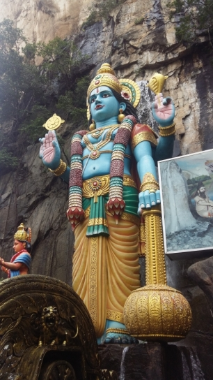 Batu Caves Lord Hanuman statue