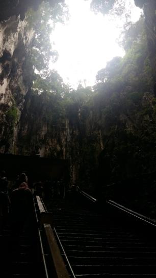 Batu Caves more steps
