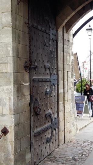 Cardiff Castle main door