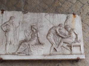 Herculaneum carving