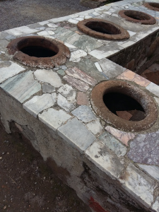 Herculaneum cooking area