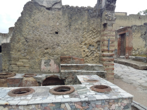 Herculaneum food area