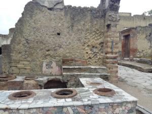 Herculaneum food area