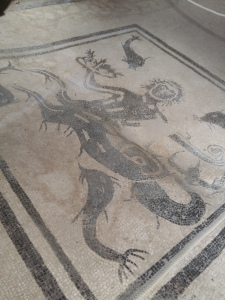 Herculaneum mosaic floor