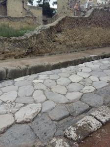 Herculaneum roman roads