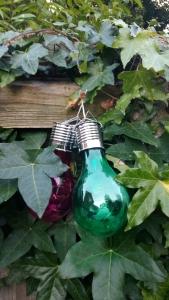 Solar lightbulbs
