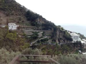 Amalfi Coast winding road