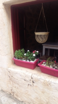 Areopoli window boxes