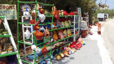 Ceramics in Diros