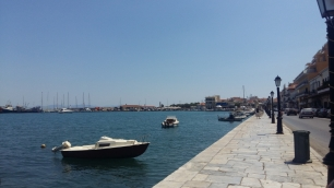 Gythio seafront