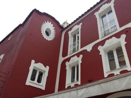 Positano building