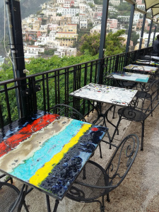 Positano painted tables 2