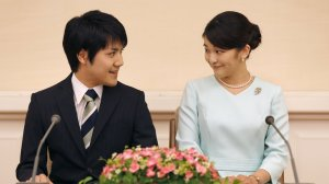 Princess Mako and Kei Komuro