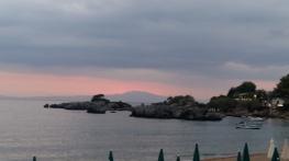Stoupa at dusk