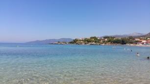 Stoupa bay