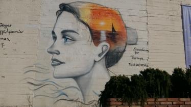 Street art in Stoupa