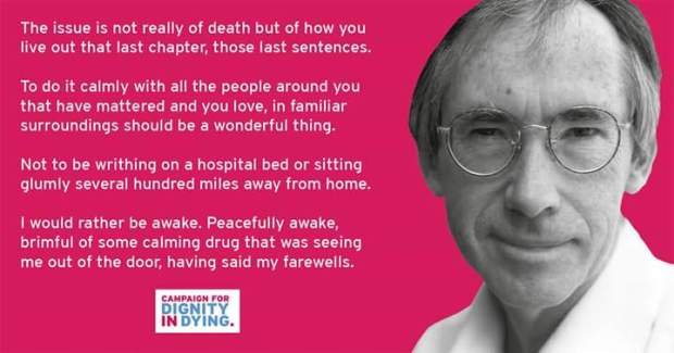 Dignity in Dying Ian McKewan