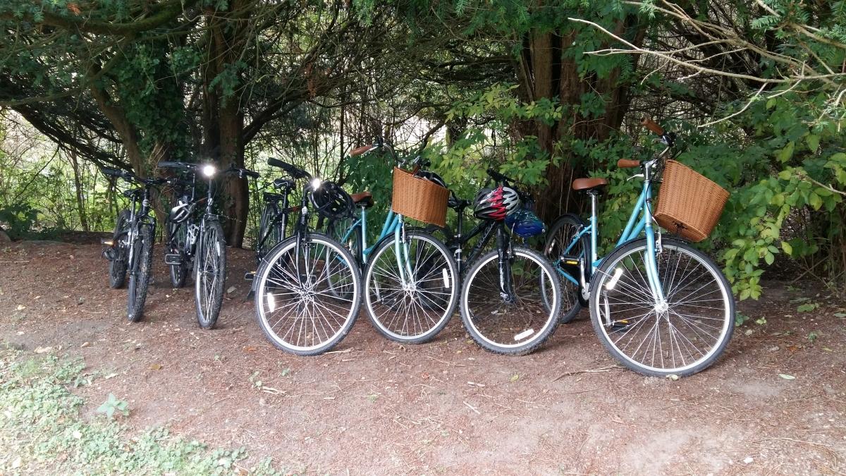 Ettington Park bikes for hire
