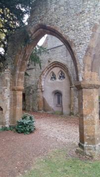 Ettington Park ruins