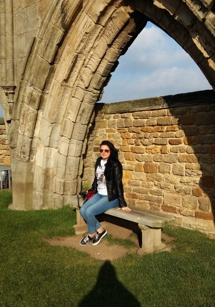 Me at Whitby Abbey