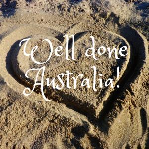 Well done Australia