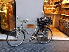 Rome beer shop bicycle