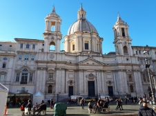 Santa Agnese in Agone church Piazza Navona 2
