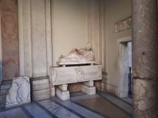 Marble carvings Vatican Museum