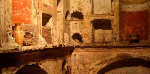 Scavi tour underneath St Peters Basilica