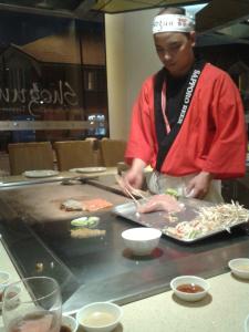Shogun Teppanyaki chef 3