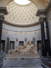 Statue and Dome Gallery of Statues Vatican Museums
