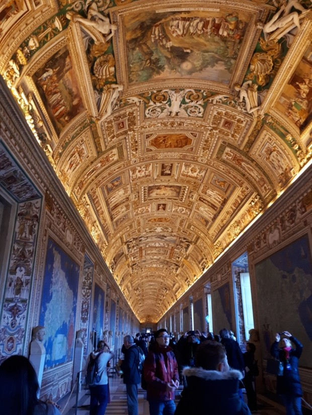 Tapestry Hall Vatican Museums