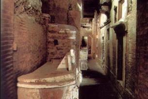 Underneath St Peters Basilica