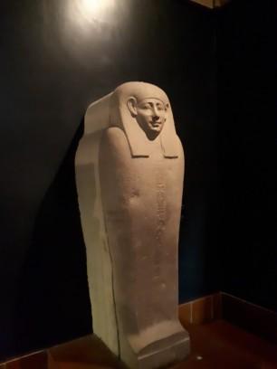 Vatican museums Egyptian burial casket