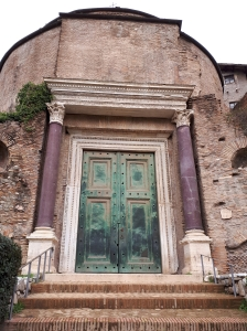 2000 year old doors Roman Forum