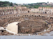 Looking across from the upper tier of the Colosseum