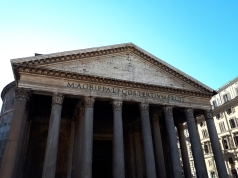 Pantheon blue skies