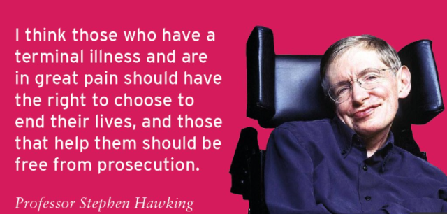 Stephen Hawking assisted dying