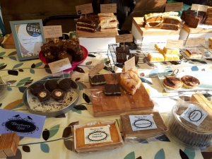 Moseley Farmers Market cakes