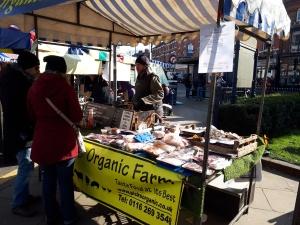 Moseley Farmers Market organic meat