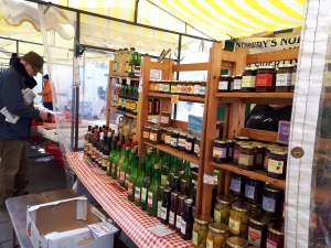 Moseley Farmers Market stall