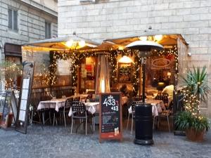 433 restaurant Rome