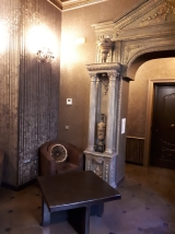 5th floor lounge at Antica Dimora del Cinque Lune Rome