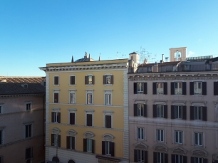 Hotel Antica Dimora del Cinque Lune Rome view from bedroom