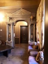 Lounge area at Antica Dimora del Cinque Lune Rome