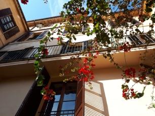 Dalt Murada courtyard view looking up