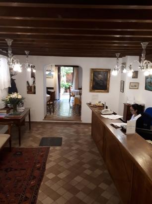 Dalt Murada reception area